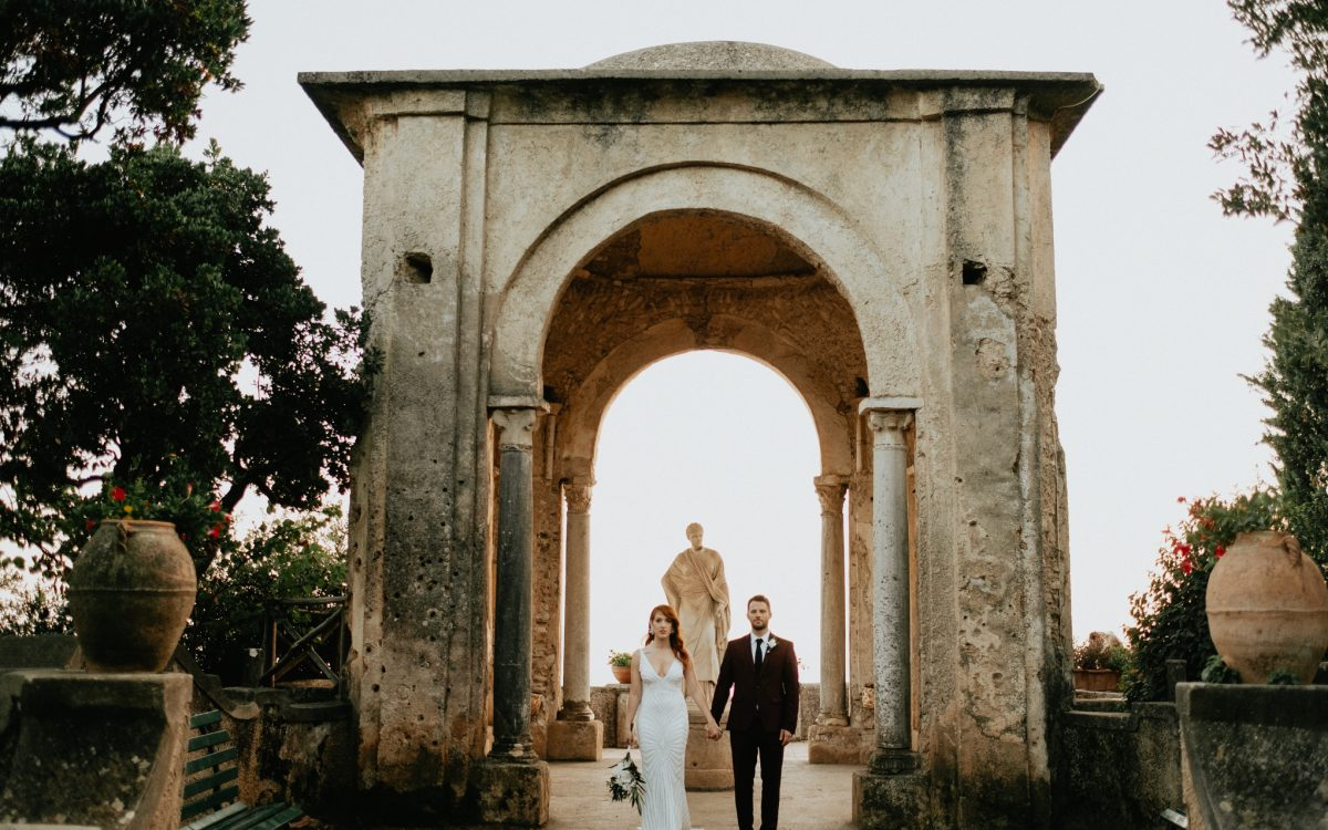 Alice & Jeffrey | Villa Cimbrone| Ravello