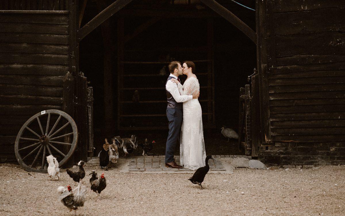 Sandy & Cos | Wedding in South Farm |London