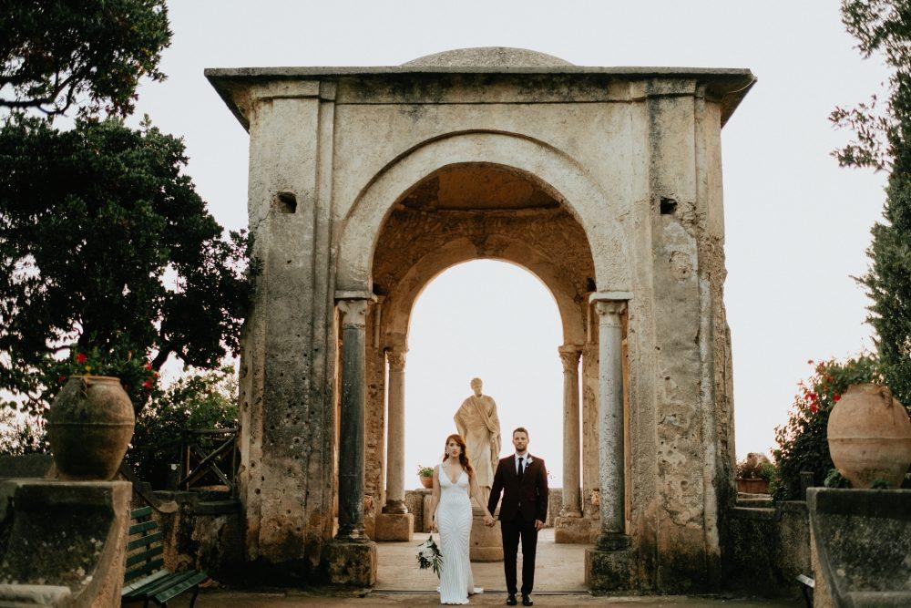 Alice & Jeffrey | Villa Cimbrone| Ravello